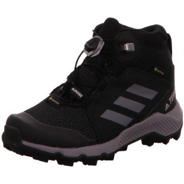 adidas Halbhoher Stiefel schwarz