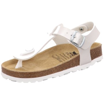 Geka Offene Schuhe silber
