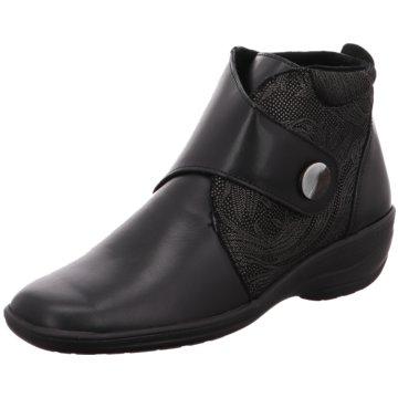 Hickersberger Komfort Stiefelette schwarz