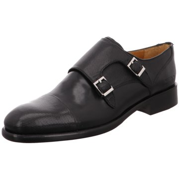 Melvin & Hamilton Business Slipper schwarz