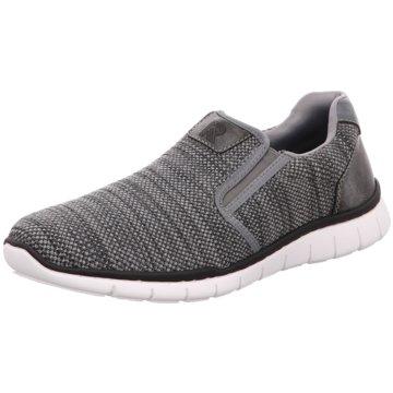 Rieker Sportlicher SlipperSneaker grau