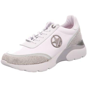 Cetti Sportlicher Schnürschuh weiß