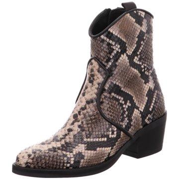 Alpe Woman Shoes Westernstiefelette braun