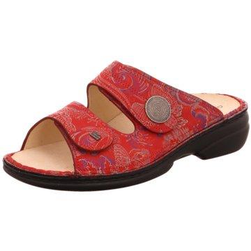 FinnComfort Komfort Pantolette02550 657420 rot