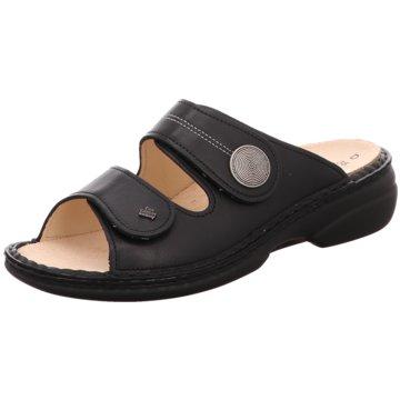FinnComfort Komfort Pantolette schwarz