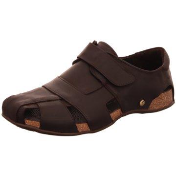 Panama Jack Komfort Sandale braun