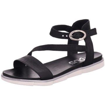 Mjus Sandalette schwarz