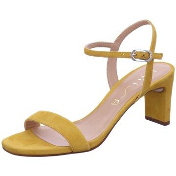 Unisa Top Trends Sandaletten gelb