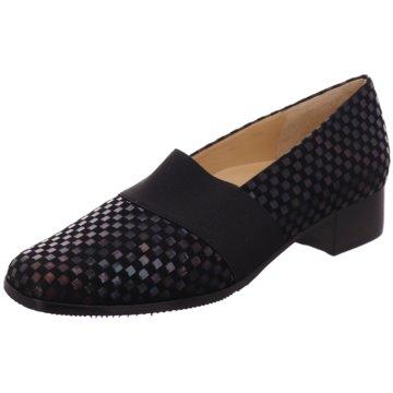 Brunate Komfort Slipper schwarz