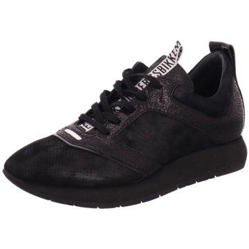 Bikkembergs Sportlicher Schnürschuh schwarz