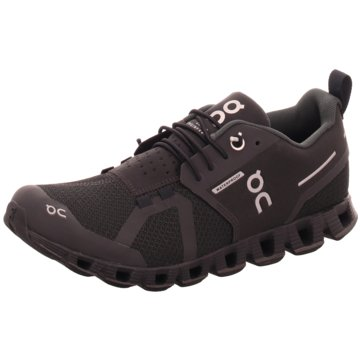 ON RunningCLOUD WATERPROOF schwarz