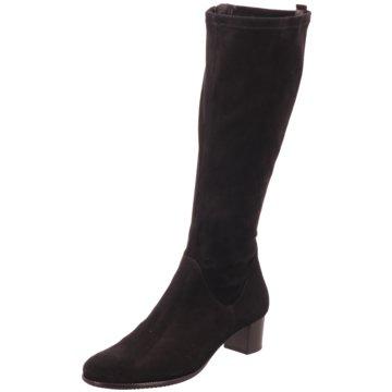 Hassia Klassischer Stiefel schwarz