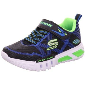 Skechers Sportlicher SchnürschuhS Lights Flex Glow schwarz