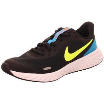 Nike Trainings- und HallenschuhRevolution 5  Kids schwarz