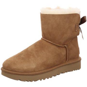 UGG Australia WinterstiefelMini Bailey Bow II Boot braun