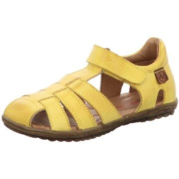 Naturino Offene Schuhe gelb