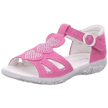 Ricosta Offene Schuhe pink