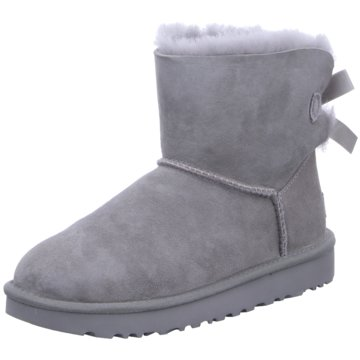 UGG Australia WinterbootMini Bailey Bow II Boot grau