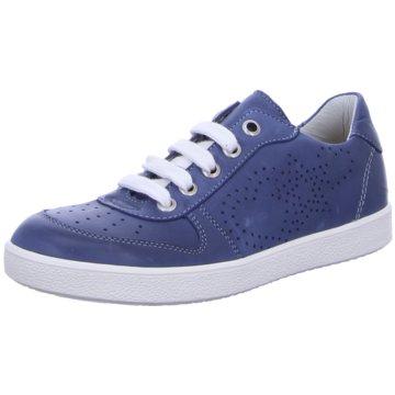 Däumling Sneaker Low blau