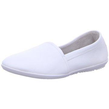 Softinos Komfort Slipper weiß