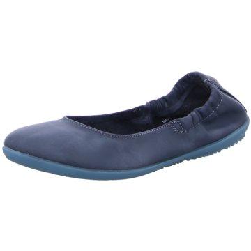 Softinos Faltbarer Ballerina blau