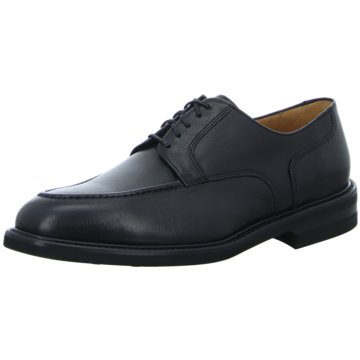 Profession Bottier Eleganter Schnürschuh schwarz