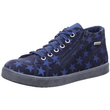Däumling Sneaker High blau
