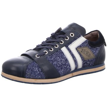 Kamo-Gutsu Sportlicher Schnürschuh blau