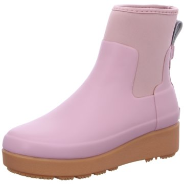 Hunter Gummistiefel rosa