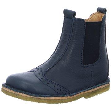 Bisgaard Halbhoher Stiefel blau