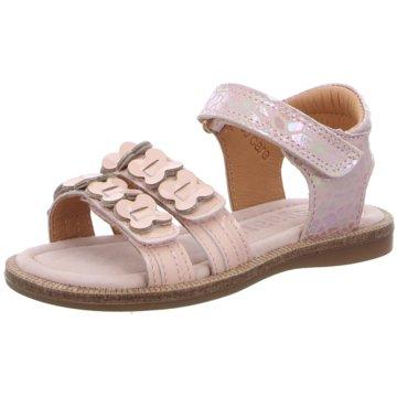 Bisgaard Offene Schuhe rosa