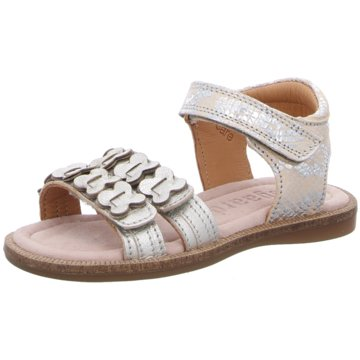 Bisgaard Offene Schuhe silber