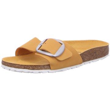 Birkenstock Klassische PantoletteMadrid Big Buckle[Slipper] gelb