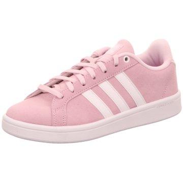adidas Core Sneaker LowCloudfoam Advantage Suede Women rosa