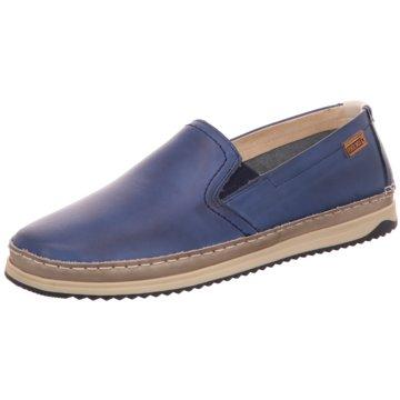 Pikolinos Klassischer Slipper blau