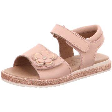 Lille Smuk Offene Schuhe rosa