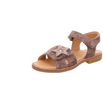 Lille Smuk Offene Schuhe braun