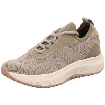Tamaris Sportlicher SchnürschuhSneaker beige