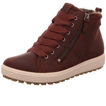Ecco Sneaker HighECCO SOFT 7 TRED W braun