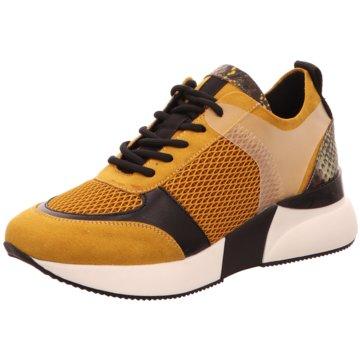 Sommerkind Plateau Sneaker gelb