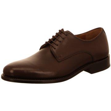 Prime Shoes Business Schnürschuh braun