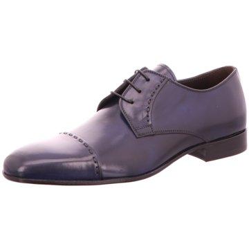 Morandi Business Schnürschuh blau