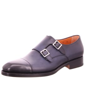 Santoni Business Slipper blau