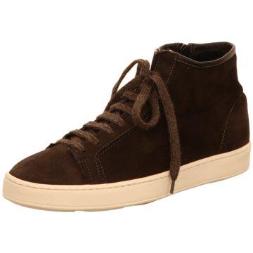 Santoni Sneaker High braun