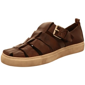 The Sandals Factory Klassischer Slipper braun