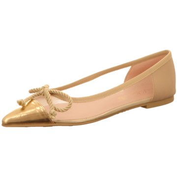 Pretty Ballerinas Eleganter Ballerina gold