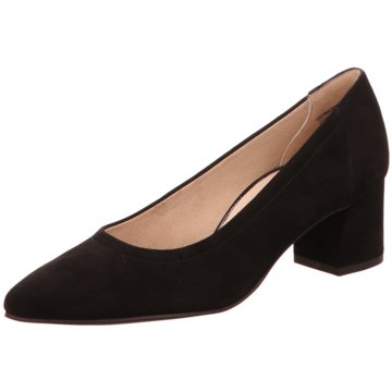 Paul Green Flacher Pumps schwarz
