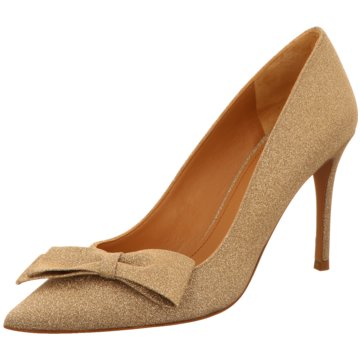 Pura Lopez Top Trends High Heels gold