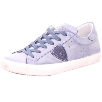 Philippe Model Sportlicher Schnürschuh blau