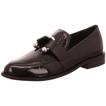 Vic Matié Business Slipper schwarz